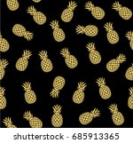 vector illustration of golden... | Shutterstock .eps vector #685913365