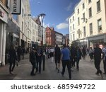 dublin  ireland   july 25  2017 ... | Shutterstock . vector #685949722