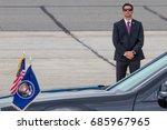 a u.s. secret service agent... | Shutterstock . vector #685967965