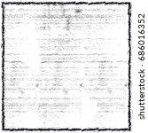 black and white grunge... | Shutterstock . vector #686016352