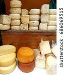 street market in rovinj | Shutterstock . vector #686069515