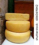 cheese street market in rovinj | Shutterstock . vector #686069842