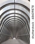 modern walkway in paris  france | Shutterstock . vector #68609878
