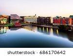 Dublin  Ireland. Aerial View O...