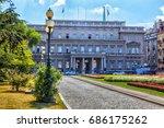 serbia  belgrade   july 26  the ... | Shutterstock . vector #686175262