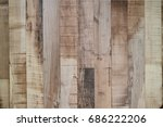 the brown wood texture with... | Shutterstock . vector #686222206