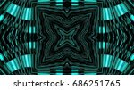 shiny futuristic background | Shutterstock . vector #686251765