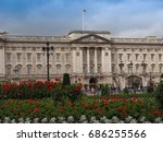 london  uk   circa june 2017 ... | Shutterstock . vector #686255566