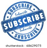 Subscribe Stamp