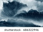 waves   sea wave ocean  | Shutterstock . vector #686322946