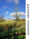 rococo gardens  painswick ... | Shutterstock . vector #686326378