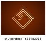 scalable vector sign ... | Shutterstock .eps vector #686483095