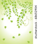 beautiful nature background ... | Shutterstock .eps vector #68652904