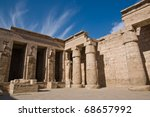 the temples of philae on... | Shutterstock . vector #68657992