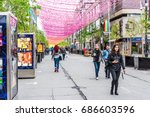 montreal  canada   may 26  2017 ... | Shutterstock . vector #686603596