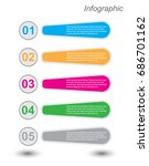 modern design template  can be...   Shutterstock .eps vector #686701162