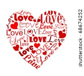 Big Heart Made Of Various Love...