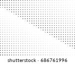 abstract halftone dotted... | Shutterstock .eps vector #686761996