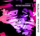 abstract vector background in...   Shutterstock .eps vector #686778706