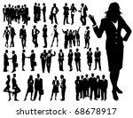 business people | Shutterstock .eps vector #68678917