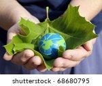 environmental conservation... | Shutterstock . vector #68680795