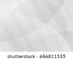 abstract background with lines... | Shutterstock .eps vector #686811535