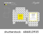 package puff powder skin color  ...   Shutterstock .eps vector #686813935