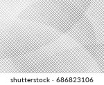 abstract background with lines... | Shutterstock .eps vector #686823106