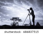 nature photography and travel. | Shutterstock . vector #686837515