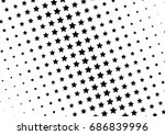 abstract halftone dotted... | Shutterstock .eps vector #686839996
