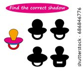 worksheet. find the correct...   Shutterstock .eps vector #686846776