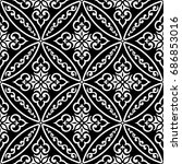 wallpaper in the style of... | Shutterstock .eps vector #686853016