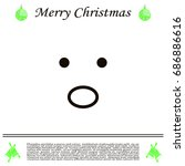 face sign icon  vector... | Shutterstock .eps vector #686886616