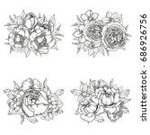 flower set | Shutterstock .eps vector #686926756