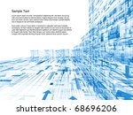 conceptual interplay of... | Shutterstock . vector #68696206
