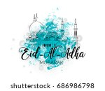 nice and beautiful abstract or...   Shutterstock .eps vector #686986798