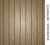 vector wooden texture. natural... | Shutterstock .eps vector #687036472