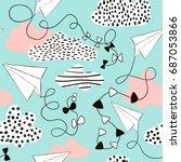 seamless pattern paper