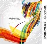 abstract background vector | Shutterstock .eps vector #68706085