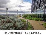 birmingham  england 1st april... | Shutterstock . vector #687134662