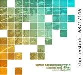 abstract vector background | Shutterstock .eps vector #68717146