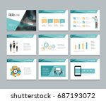 layout design template for... | Shutterstock .eps vector #687193072