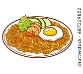 "seafood fried noodle  or ""pie... 