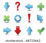 set of design elements   Shutterstock .eps vector #68723662