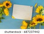 Sunflowers Fresh Flowers On...