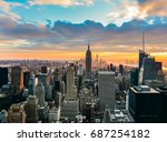 new york  united states  ... | Shutterstock . vector #687254182