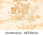 vector map of the city 2.... | Shutterstock .eps vector #68730016
