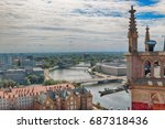 wroclaw  poland   july 29  2017 ... | Shutterstock . vector #687318436