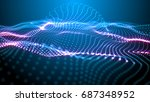 fantastic structure formed by...   Shutterstock . vector #687348952