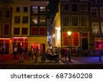The Famous Red Light District...